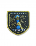 KCRW Spring 2017 Badge Patch