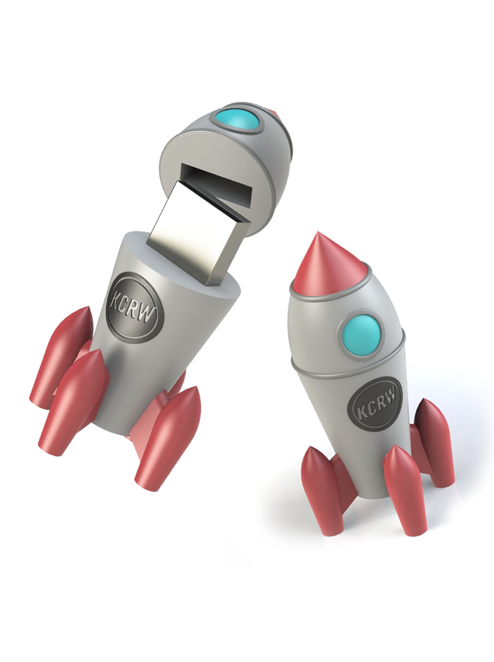 KCRW Spring 2017 Rocket Music Flash Drive