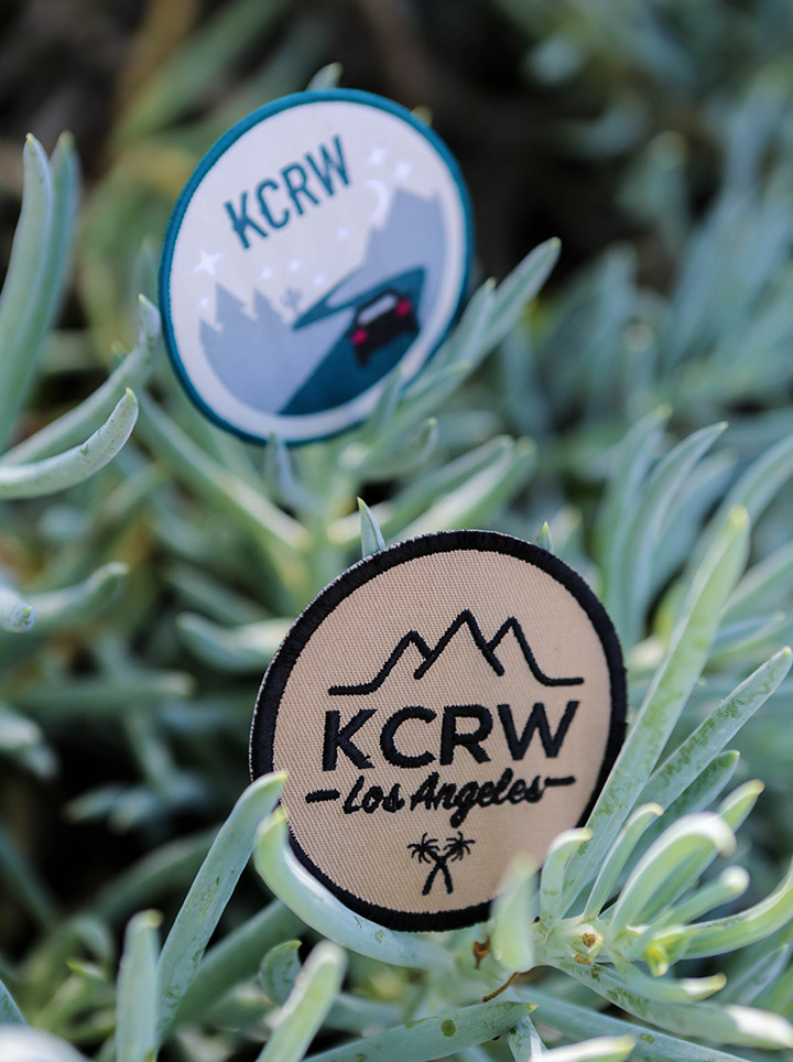 KCRW Patch Pack