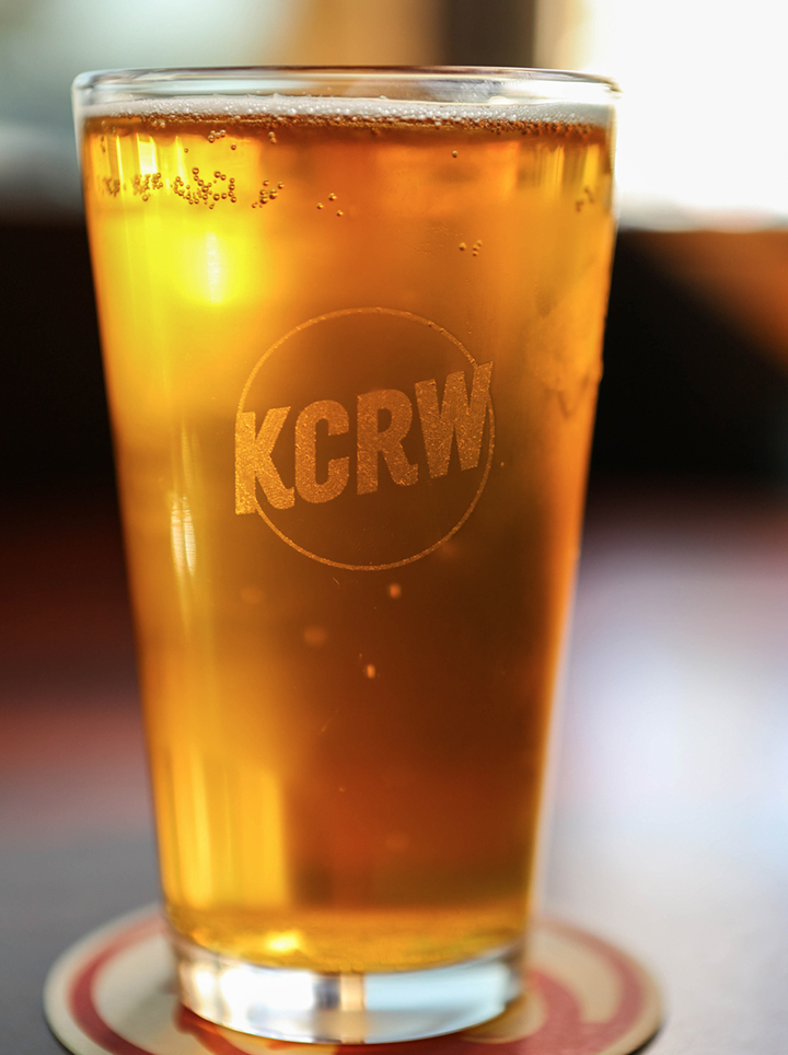KCRW Fall 2018 Pint Glass