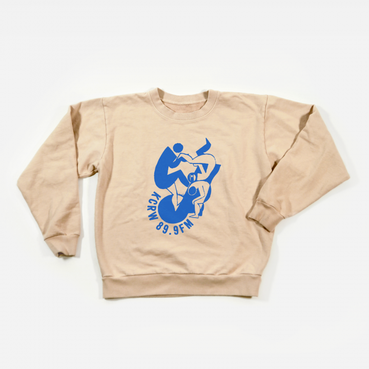 KCRW Spring 2019 Throwback Crewneck Sweatshirt