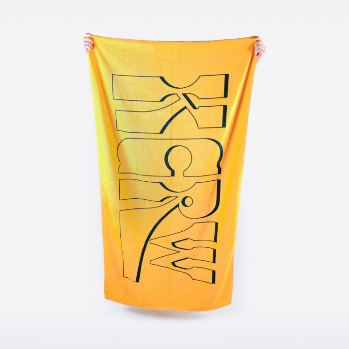 KCRW Spring 2019 Beach Towel