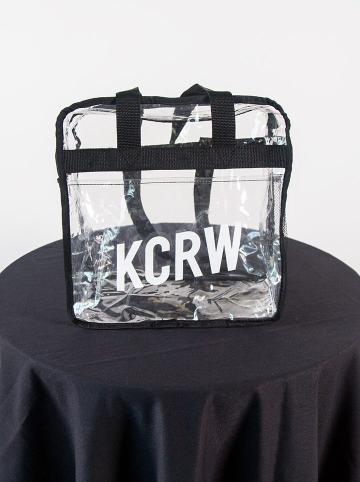 KCRW Stadium Bag Fall 2019