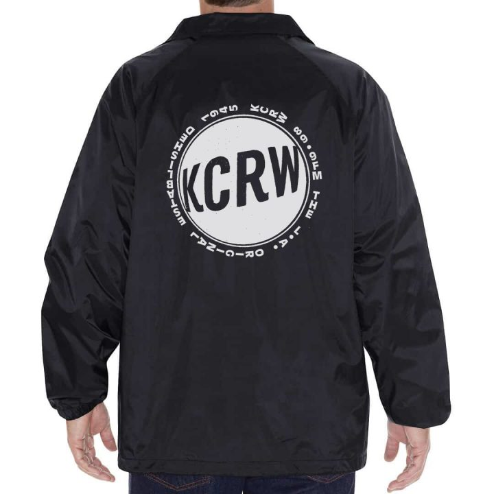 KCRW LA Original Windbreaker Fall 2019