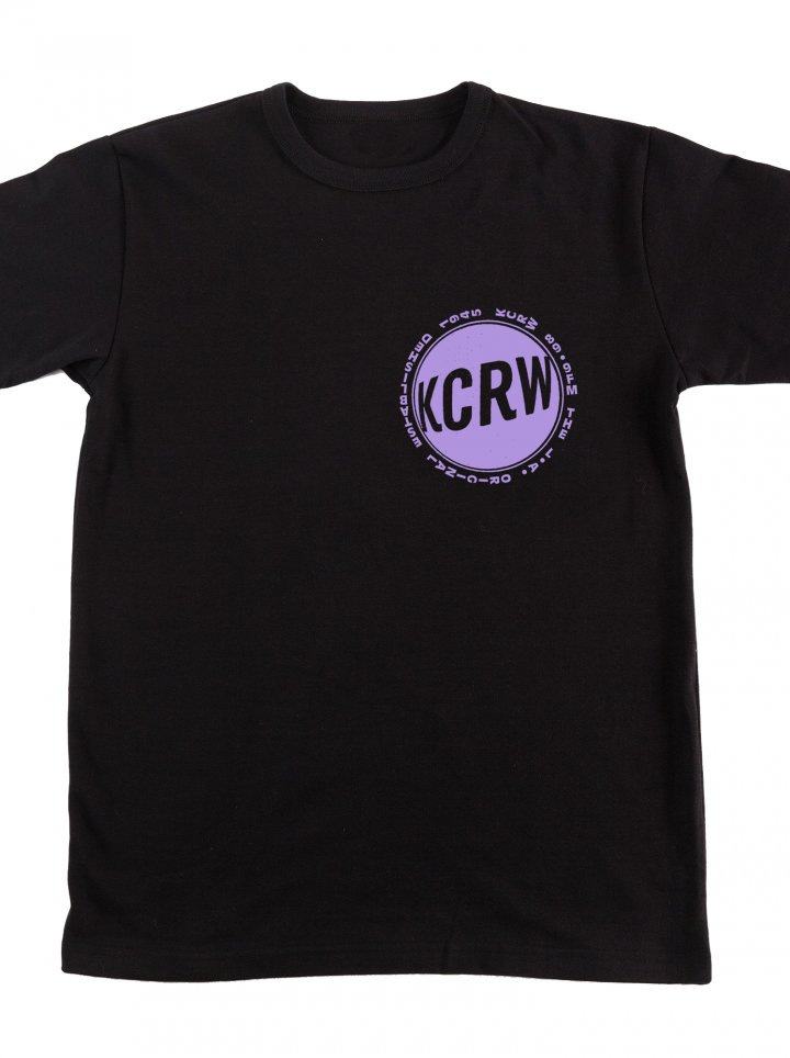 KCRW LA Original T-shirt Black Fall 2019