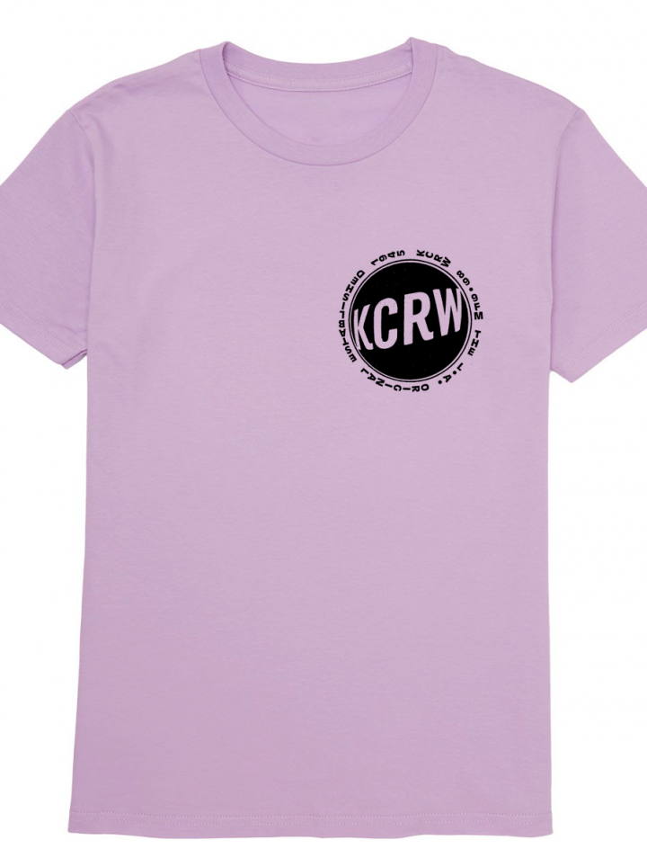 KCRW LA Original T-shirt Lilac Fall 2019