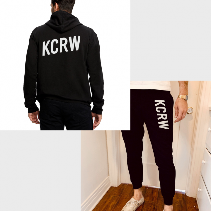 hoodie with sweatpants kcrw spring 2020